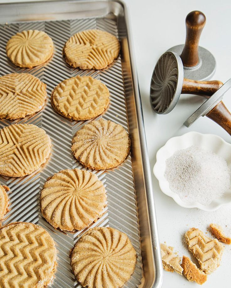 "99 Likes, 4 Comments - Amazon Kitchen (@amazonkitchen) on Instagram: ""It's time to start thinking about #holiday #baking! We love these geometric #cookie stamps from…"""