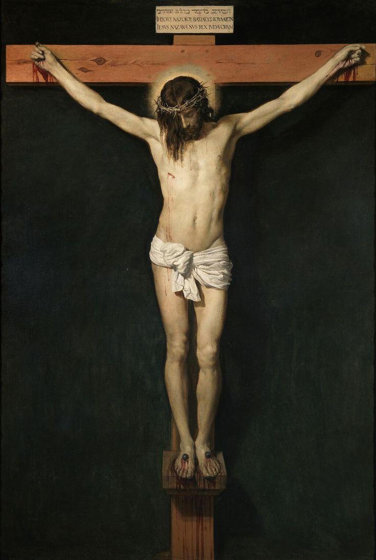Cristo crucificado. Velázquez.