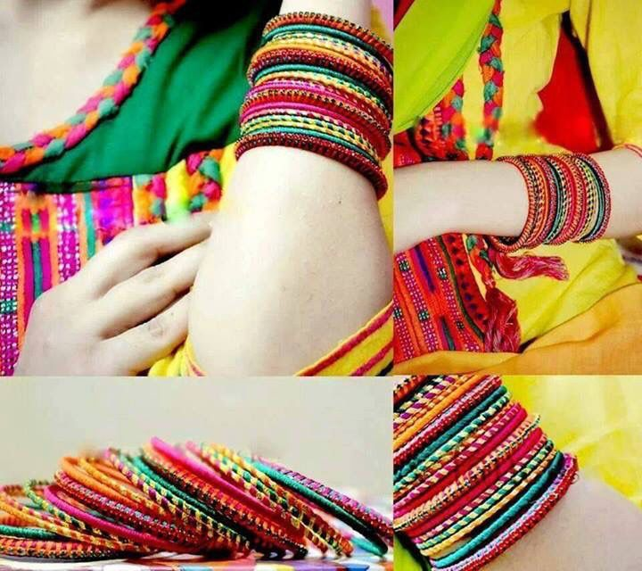 Hands and bangles dp