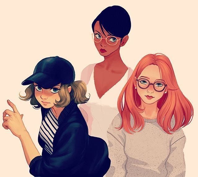 Instagram media by mjj_nz - #digitalart #girls #style #character #doodle