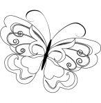 Ausmalbilder Schmetterlinge