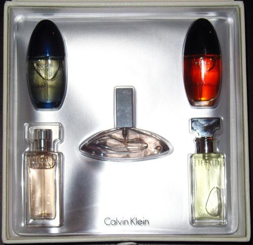 Calvin klein perfume box set