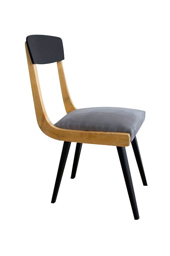 Chair  from the 50s by LoftPosterDesign on Etsy    #wood, #wax, #renovation, #old ferniture, #armchair, #interior design, #vintage #chair