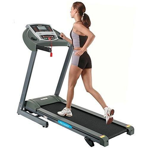 Merax Portable Treadmill Folding Motorized 1.5HP Running Machine