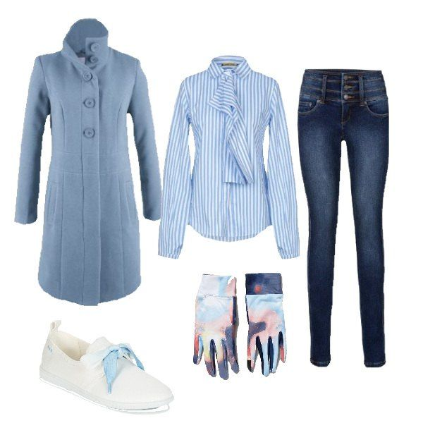reputable site baa4a a69c7 Pin su Outfit donna