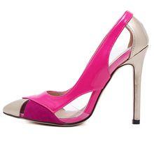 Avrupa Yıldız Kadın Süper Güzel Sivri Burun Yaz Sansal Ince Topuklu Ayakkabı Pompaları Kadın Yüksek Topuklu Ayakkabı Topuklu Ayakkabı G0219(China (Mainland))