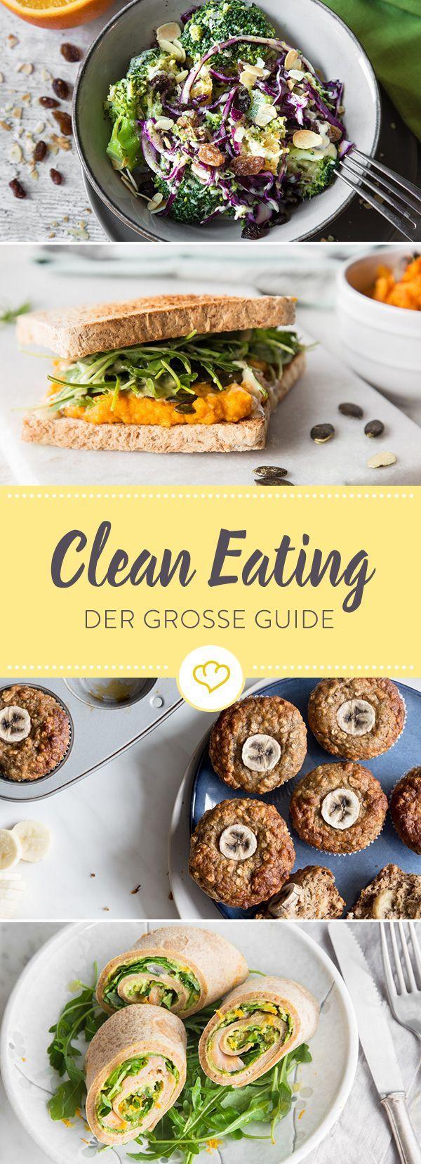 Wie funktioniert eigentliche Clean Eating? Alles, was du über das Ernährungskonzept wissen musst, gibt's hier einmal kompakt zum Nachlesen.