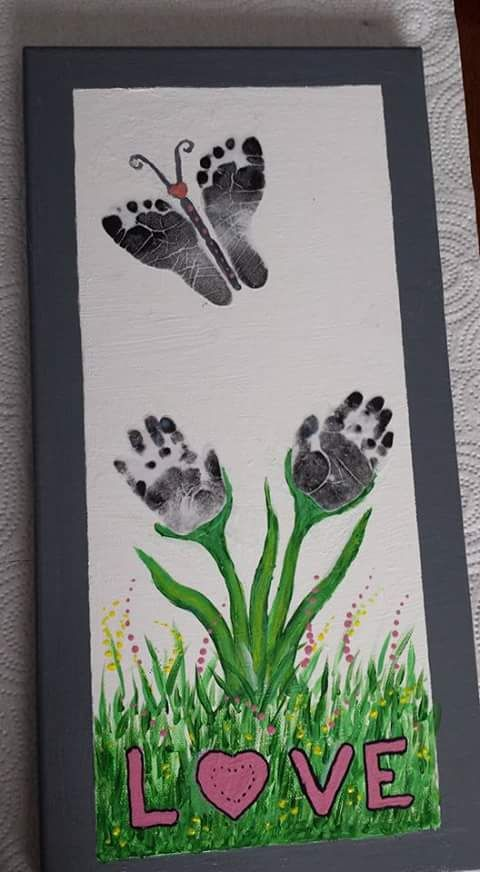 Beautiful Idea, made with love, for a Mom's birthday, or Mother's Day, or perhaps, a Grandmother.