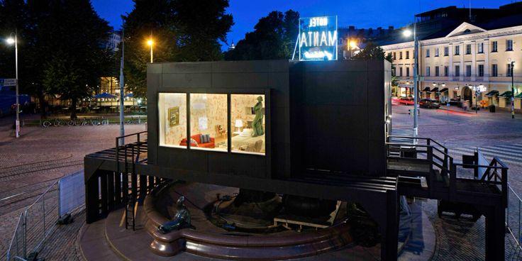 In bed with Havis Amanda Con-temporary hospitalities 4: a creative, unexpected hotel room in Helsinki by Tatzu Nishi
