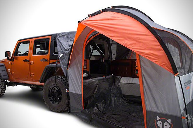 Rightline Gear SUV Tent For Jeep Wrangler 2