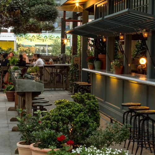 Name: The Potting Shed (at the Grounds of Alexandria) Location: Melbourne, Australia Design: Acme & Co    It looks like The Grounds of Alexandria has been growing; both literally &  figuratively. One of the newest additions to their already beautiful space  (Check out photos of thei