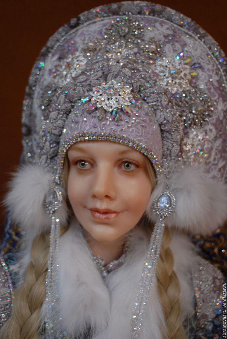 Купить или заказать кукла авторская 'Снегурочка' в интернет-магазине на Ярмарке Мастеров. кукла авторская.единственный экземпляр.