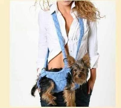 Image result for cangurera crochet perrita