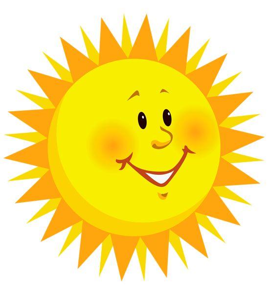 Transparent Smiling Sun PNG Clipart Picture