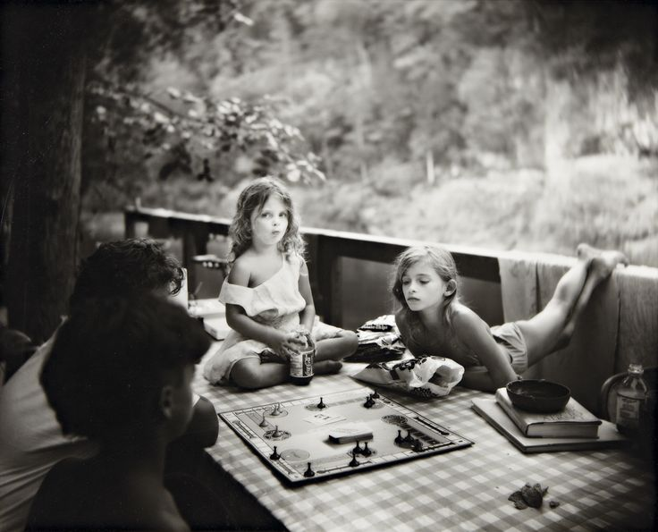 Sally Mann Sorry Game from Immediate Family, 1989.