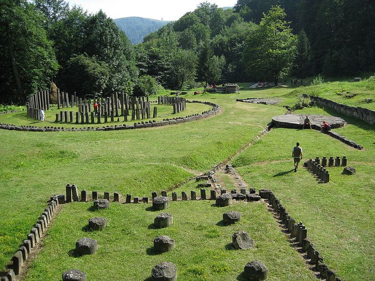 The Sacred Area from Sarmizegetusa, the center of the Dacian world