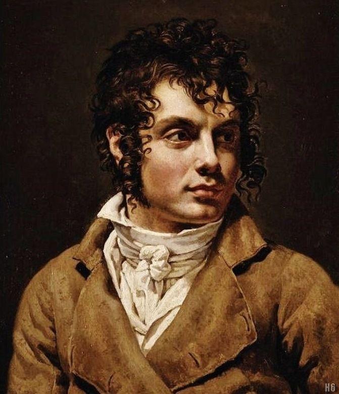 Portrait of a Man. Anne Louis Girodet de Roussy Trioson. French. 1767-1824. oil on canvas.