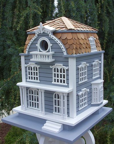 Sag Harbor Birdhouse -Mansard Roof