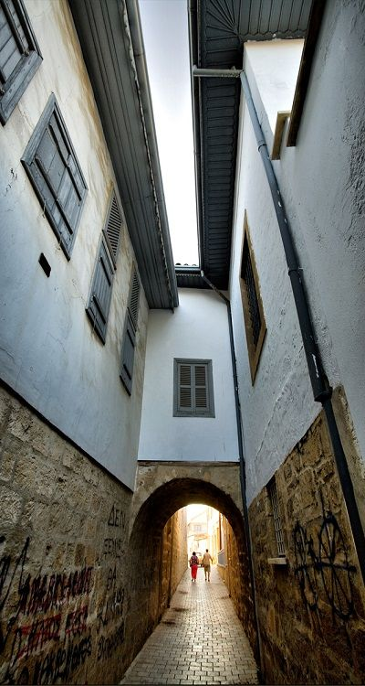"""""""Arched passage"""".. Old town of Nicosia, Cyprus (by Φ-Filippos-Κ on Flickr)"""