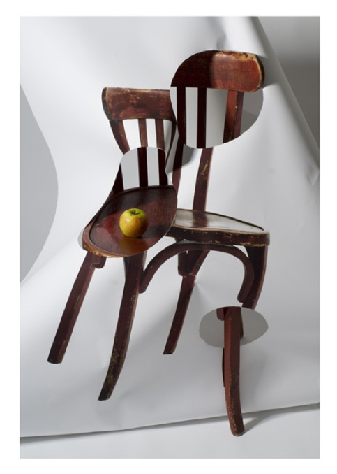Chaise mentale Rouge Pomme