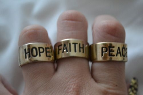 : Funky Jewels, Posts, Cat Decid, Boho Accessories, Hope Faith Peace, Peace Please, Rings