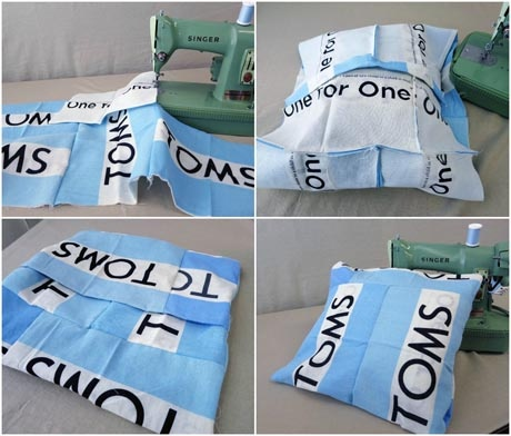 Toms Flag Pillow