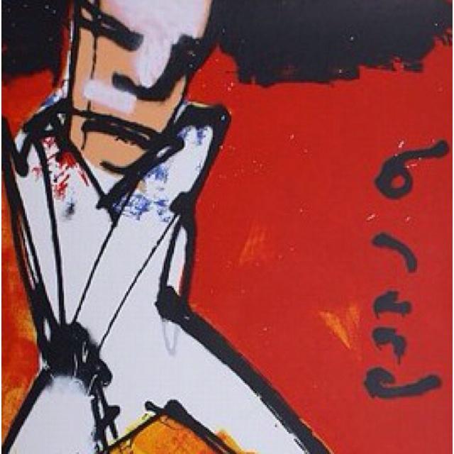 """""""De Golfer"""" van Herman Brood."""
