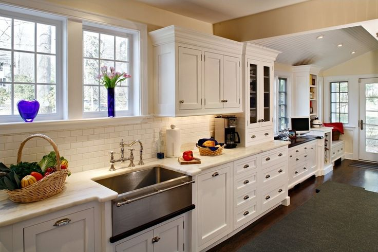 Sumptuous apron sinks Decorating ideas for Kitchen Southwestern