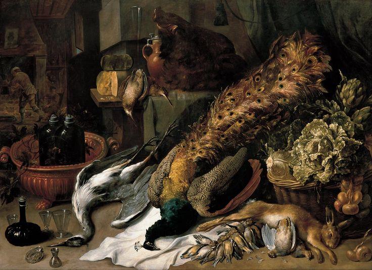 Натюрморт с битой дичью (1610-1620) (Мадрид, Фонд Банко Сантандер)