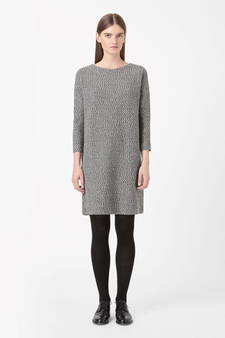 COS | Textured jersey dress