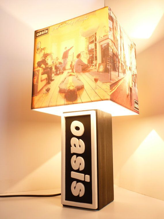 Really cool oasis album lamp!!