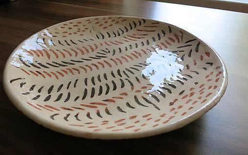 e-keramika / trojfarebná misa