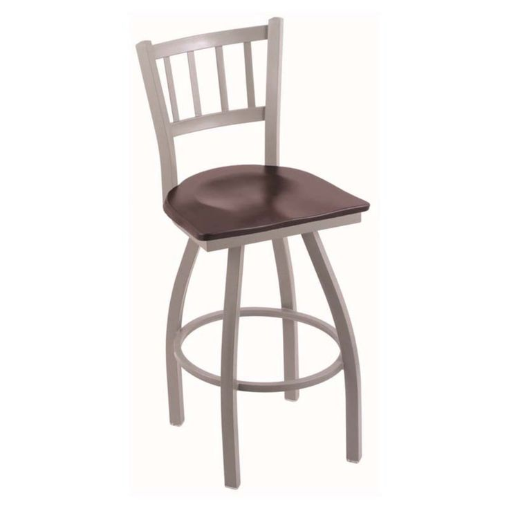 Holland Bar Stool Contessa 30 in. Swivel Bar Stool with Wood Seat - 81030ANDCMPL