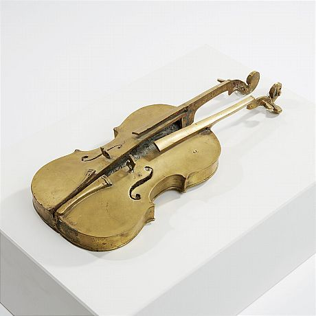 Fernandez Arman, Split violin (in 2 parts)