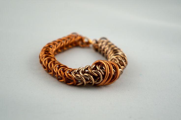 Two Tone Copper bracelet
