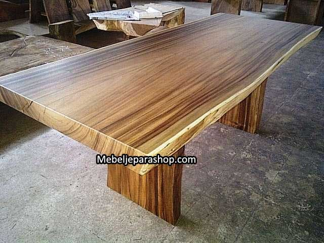 Solid Suar Wood Wide Table