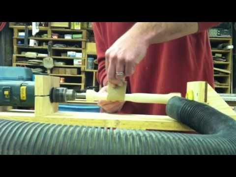 Homemade Wood Lathe #2