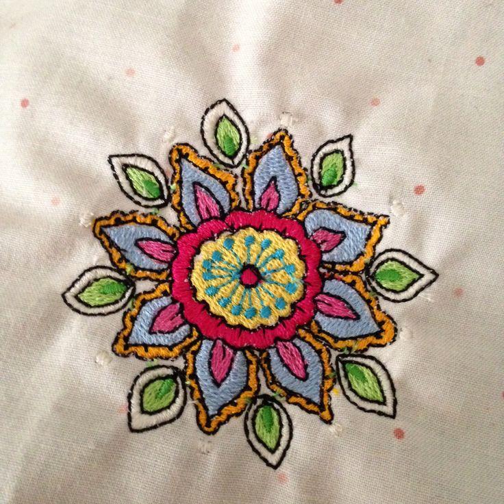 Mary Gartner embroidery