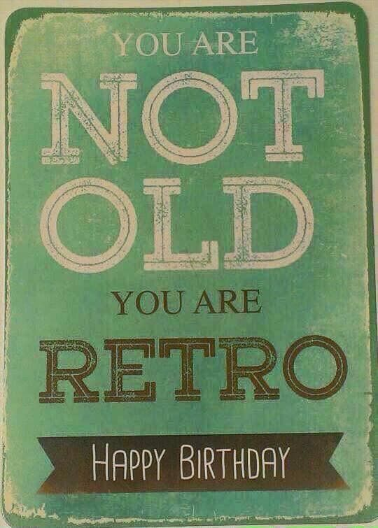 Happy Birthday retro