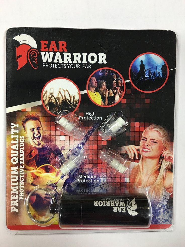 Ear Plugs - Best Earplugs for Musicians DJs Concerts Nightclubs - Provides Hearing Protection from Loud Sounds - http://ratezon.com/product/ear-plugs-best-earplugs-musicians-djs-concerts-nightclubs-provides-hearing-protection-loud-sounds/