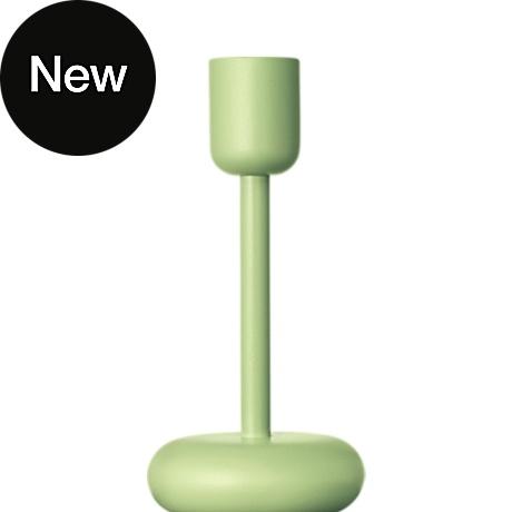 Nappula Candleholder 183 mm celadon green