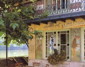 Maison Fournaise, réfection des décors peints par les Impressionnistes