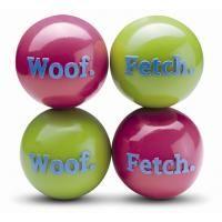 Hundespielzeug Hundeball Fetch & Woof von Planet Dog