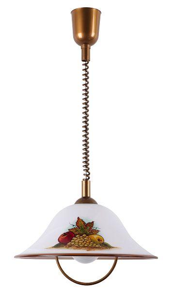 Art 1 - závesná lampa kuchynská - ručne maľovaná cena 68,67E
