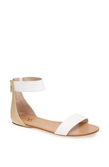 ['Cambelle' Ankle Strap Sandal - Yosi Samra @ Nordstrom] Sandal option for the season. Probably should have just ordered these right away, as they've quickly become sold out in my size.