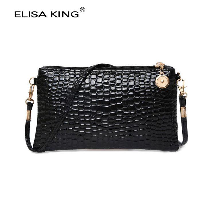 Mujeres de la manera de pequeñas bolsas de hombro crossbody bolsas mini bolsas de mensajero de las señoras de LA PU bolsos de cuero embrague monederos y carteras