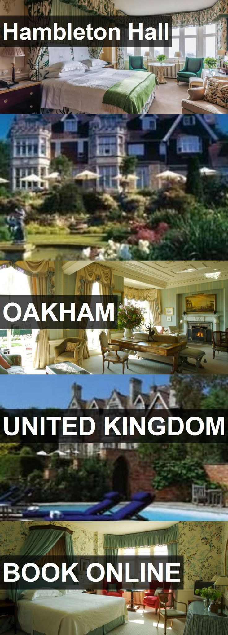 Hotel Hambleton Hall in Oakham, United Kingdom. For more information, photos, reviews and best prices please follow the link. #UnitedKingdom #Oakham #HambletonHall #hotel #travel #vacation