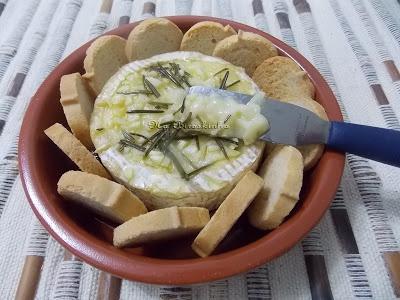 Camembert Assado - Na Biroskinha