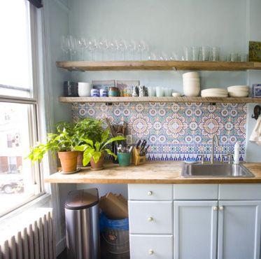 Kitchen Back Splash - Moroccan Tiles from http://www.casbahdecor.com
