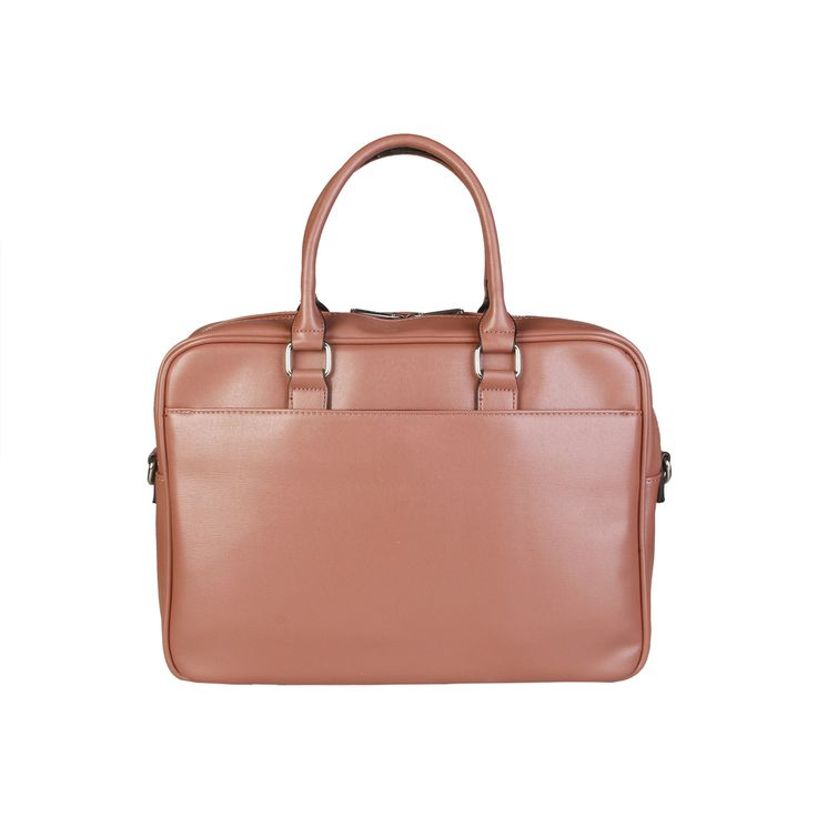 Briefcase and computer bag of saffiano eco-leather. It is adjustable and has removable    nylon strap. It has Internal organization with padded laptop compartment and multiple pockets.  https://fashiondose24.com